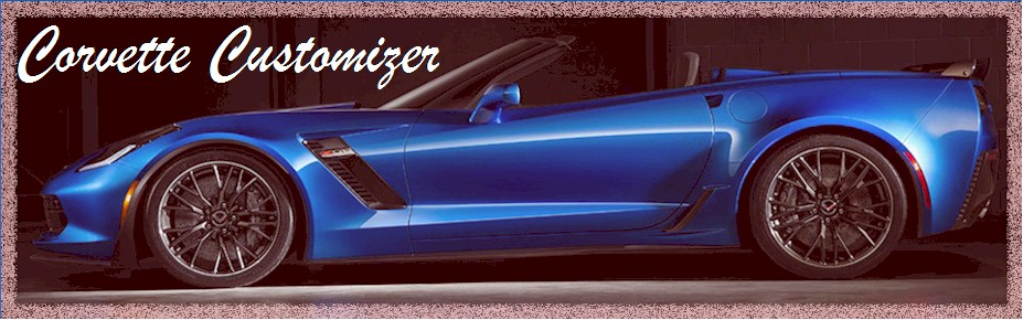 Corvette Customizer
