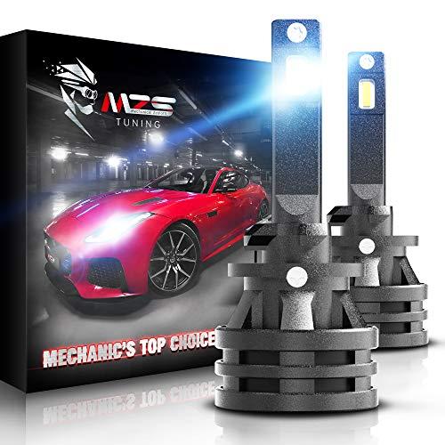 2x H1 Chrisp WHITE LED 9-SMD Fog Bulbs fit Alfa Romeo 147